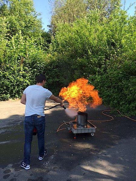 Brandschutzuebung