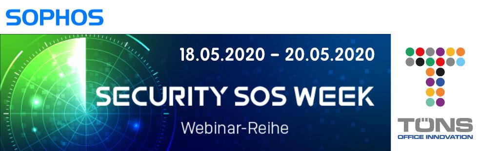 Logo Security SOS Week 2020