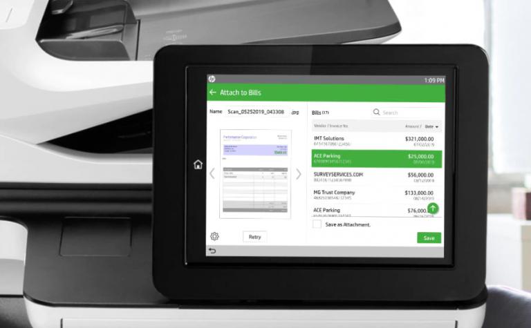 Scan auswählen Scannen Sie Dateien direkt an die Cloud-Station